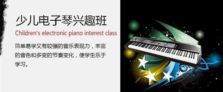 学校完善的电子琴/电钢琴/钢琴班为孩子提供提升的平图片
